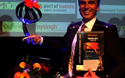 WTC Export Award open voor bedrijven uit Oost Nederland
