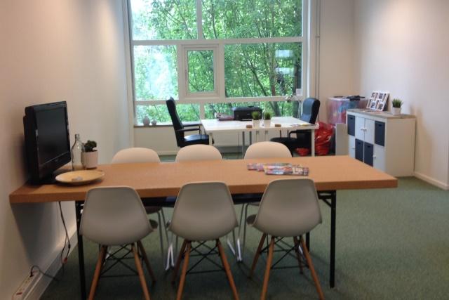 kantoorruimte bij het WTC Twente Hengelo