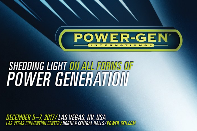 POWER-GEN International, Las Vegas | 5 – 7 december 2017