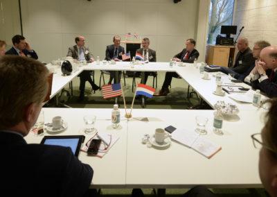 Rondetafelmeeting met CEO WTCA en vertegenwoordigers van overheid en onderwijs