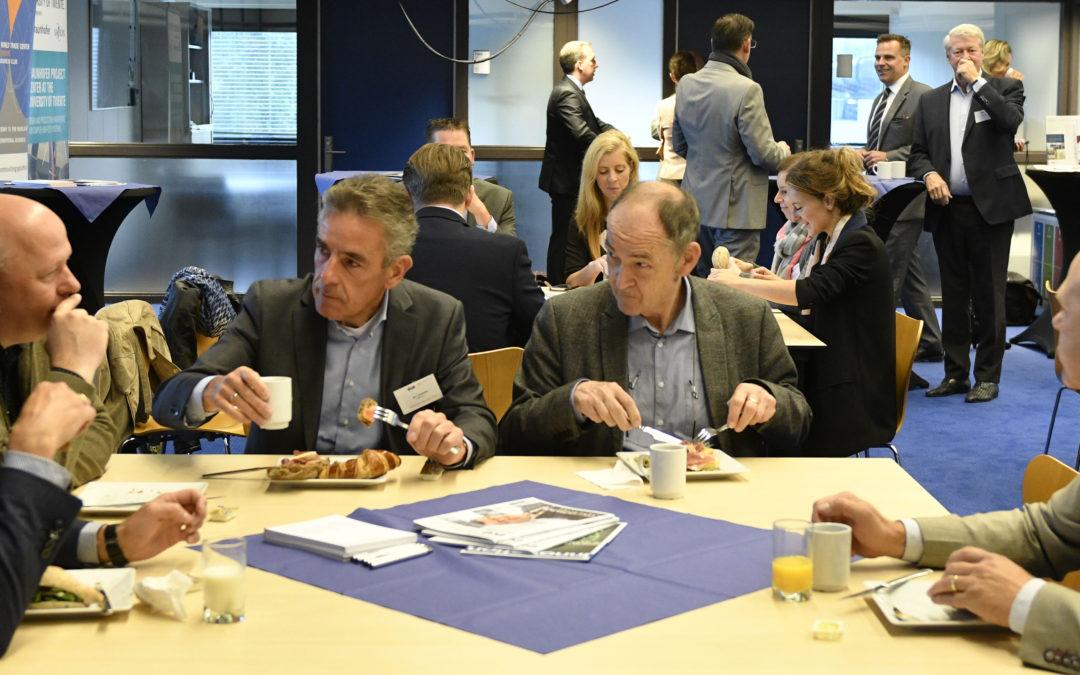 20 september 2018 – Nieuwe leden ontbijt WTC Twente Business Club