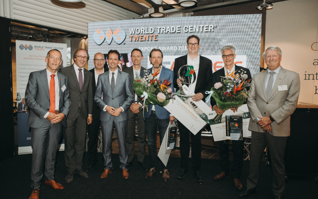 Aircrete Europe winnaar WTC Twente Export Award 2018