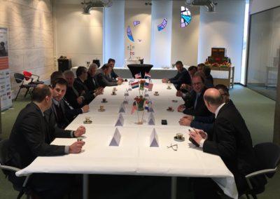 Vergaderen het inrichten van een boardroom in Twente
