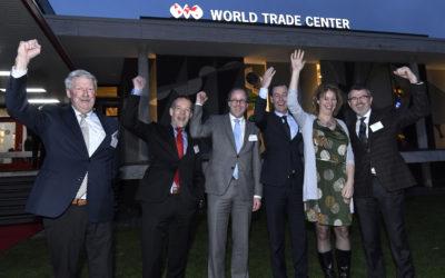 Succesvol bezoek hoogste baas WTCA uit New York