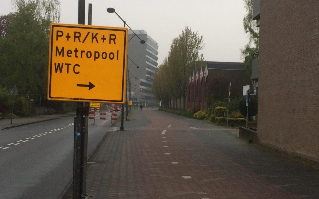 Afsluiting rotonde Industrieplein