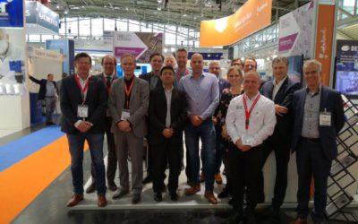 Samen optrekken op Semicon beurs voor de halfgeleiderindustrie in München werpt zijn vruchten af
