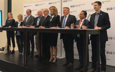 Wereldwijde World Trade Centers samenwerking op gebied van agribusiness