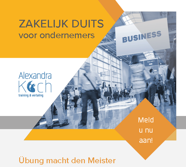 8-15-16 november 2018 | Zakelijk Duits voor ondernemers