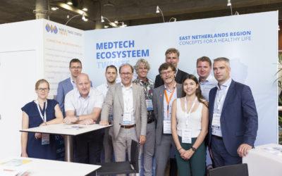 Succesvolle deelname Twentse bedrijven aan MedFIT in Lille