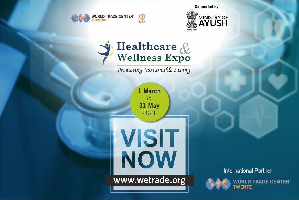Healthcare & Wellness Expo WTC Mumbai